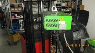 Stahl Kettenzug Typ ST 1005 - 8/2 2/1