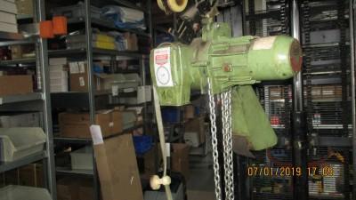 Stahl Kettenzug Typ Elektus A2