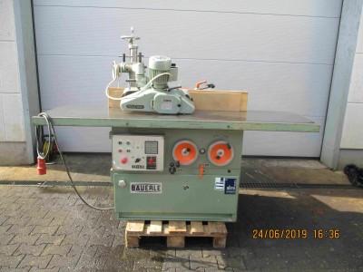 Bäuerle Vertikalfräsmaschine Typ 1112 Typ 1112